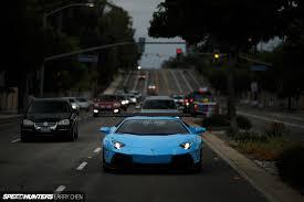 Lamborghini Aventador Front View - liberty walk lamborghini aventador front view on road sssupersports