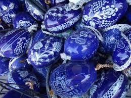 blue easter eggs 47 best blue and white easter eggs images on easter