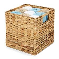 chagne baskets woven storage basket square kmart could be spray painted to