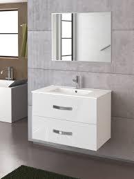 muebles de lavabo mueble de baño deva 80 de torvisco en color blanco