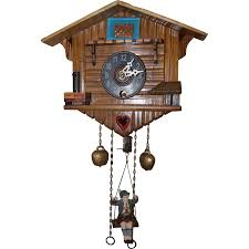 Cuckoo Clock Germany Rare Vintage Bouncing Boy German Pendulette Clock Mini Cuckoo Type