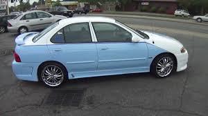 nissan sentra 2008 modified carolina blue nissan sentra johns restoration youtube