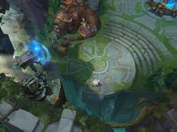 Summoners Rift Map Dev Blog Defining The Rift U0027s Visual Style League Of Legends