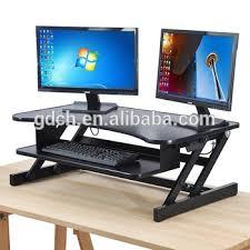 Desk Risers For Standing Desk Standing Work Height Adjustable Desk Riser Sit Stand Desk Buy