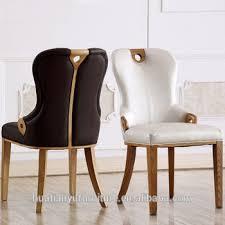 chaise rembourr e hôtel meubles solide cendres en cuir chaise rembourrée pour salle à