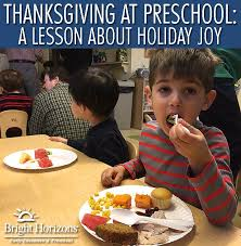 at preschool a lesson about