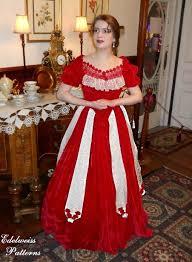 the red velvet civil war ballgown simplicity pattern 2881