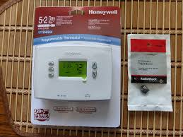 5 2 day programmable honeywell thermostat upgrade