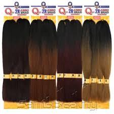 ombre kanekalon braiding hair milky way synthetic 100 kanekalon braids que premium 2x soft