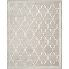 Gray Moroccan Rug Shop Safavieh Amherst Marion Gray Ivory Rectangular Indoor Outdoor