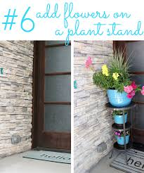 five minute friday 6 quick ways to add color to a front porch