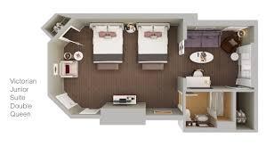 victorian building suites san diego resort suites two bedroom victorian crown suite king bed 2 queen beds view floorplan ocean view victorian signature suite king bed view floorplan