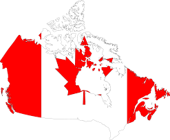 Canada Blank Map by Clipart Canada Map Flag