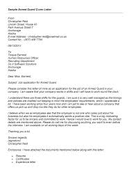 cover letter for security guard resume badak