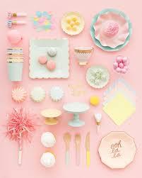 Pastel Color Party Supplies