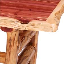 Log Dining Room Table Aromatic Red Cedar Log Dining Table Juniper Tables Red Cedar