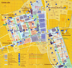Expo Line Map Expomuseum Expo 2000 Hanover Germany