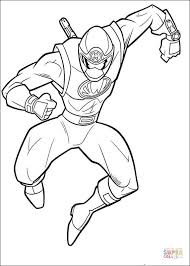 ranger yellow coloring free printable coloring pages