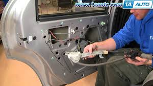 2001 dodge dakota window regulator how to install replace rear power window regulator dodge stratus
