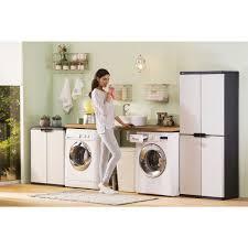 home design products keter keter 4 shelf cabinet grey officeworks