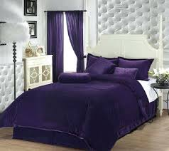Black And Purple Comforter Sets Queen Black And Purple Bed Set Smartwedding Co