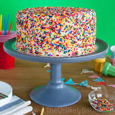 funfetti cake a very special birthday cake the unlikely baker