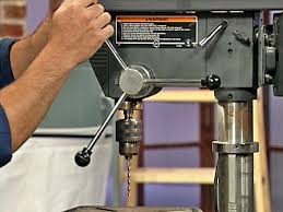 What Is A Pedestal Drill How To Use A Drill Press How Tos Diy