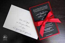 Red And Black Wedding Red And Black Wedding Invitations Wedding Invitations Wedding