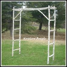 birch wedding arch arbor kit northern boughs online store