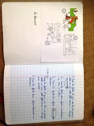 Réflexions autour du cahier décrivain  Caracolus