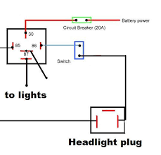 outstanding wiring diagram for spotlights with relay inspiring