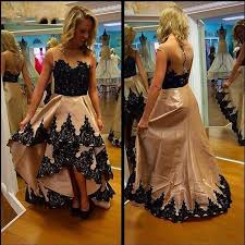 hi lo a line celebrity evening dresses gowns prom 2015 a line