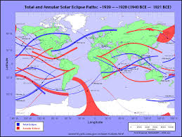 World Atlas Map Eclipsewise World Atlas Of Solar Eclipse Paths