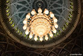 Sultan Qaboos Grand Mosque Chandelier Road Trip Oman Arrival In Muscat U2013 Compass U0026 Camera