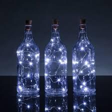 unique wine bottles for sale bulk pack 3 solar powered 10 cool white led cork wine bottle