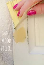 livelovediy how paint kitchen cabinets easy steps paint your kitchen cabinets the easy way tutorial anyone can once wood filler completely dry sand down level surface with