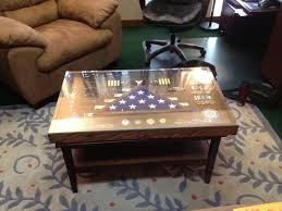 military shadow box coffee table amazing shadow box coffee table