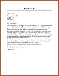 cover letter examples rn nursing cover letter example 10 free