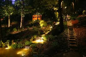 Backyard Landscape Lighting Ideas - garden design garden design with magnificent led landscape