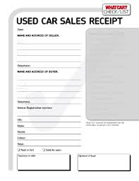 car sales invoice template free free business template