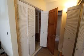 closet louvered bifold closet doors prehung interior door