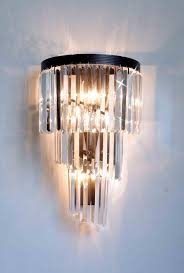 Retro Wall Sconces A7 4 1100 Wallsconce Gallery Chandeliers Retro Odeon Crystal Glass