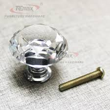 temax glass crystal sparkle cabinet drawer cupboard door pulls
