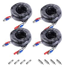 annke 100 feet 30 meters 2 in 1 video power cable with bnc
