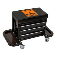 uline rolling tool cabinet wen garage glider rolling tool chest seat 73015 the home depot