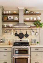ideas for kitchen shelves inspiring small kitchen remodel ideas 54 stove shelves and