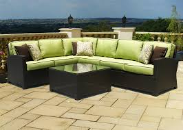 Lime Green Sectional Sofa Decor Tips Modern Black Wicker Patio Sectional Sofa With Lime