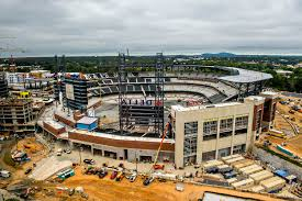 how atlanta braves new stadium suntrust park looks right now
