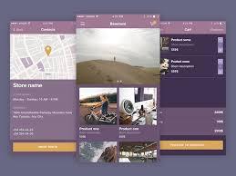 mobile app design psdblast