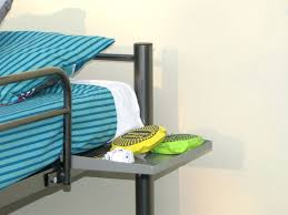 Bunk Bed Side Table Shelf Bunk Shelf Attachment Shelves For Collegebunk